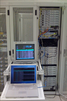 Intervention en datacenter